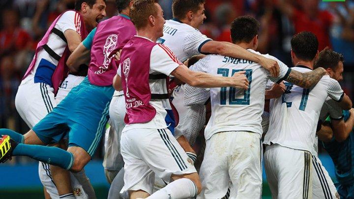 Россия обыграла Испанию и вышла в четвертьфинал ЧМ