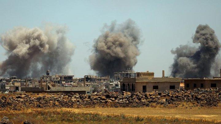 Офицер сирийской армии погиб в результате удара ВВС Великобритании