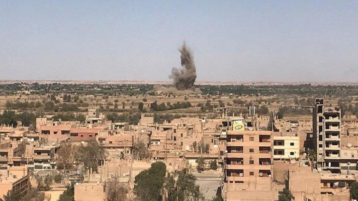 Самолёты коалиции США нанесли авиаудары по мирным жителям в Сирии