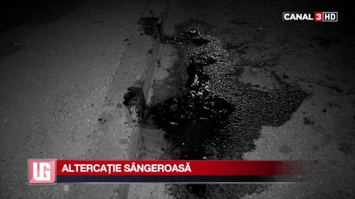 Двое молодых людей устроили кровавые разборки на Рышкановке: фото