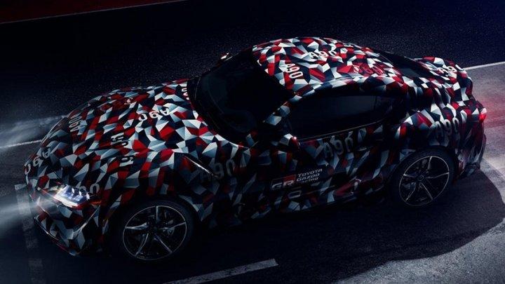 Новую Toyota Supra покажут уже через неделю