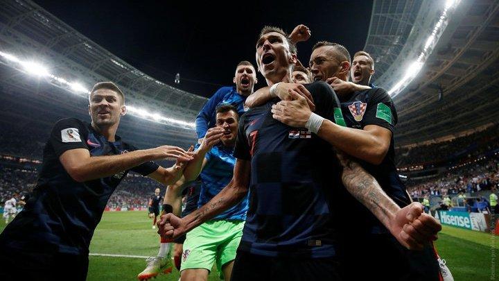 Хорватия впервые вышла в финал чемпионата мира по футболу