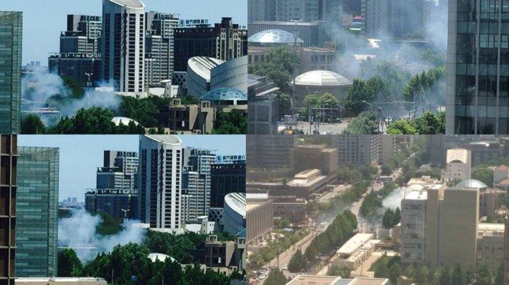 У посольства США в Пекине произошел взрыв