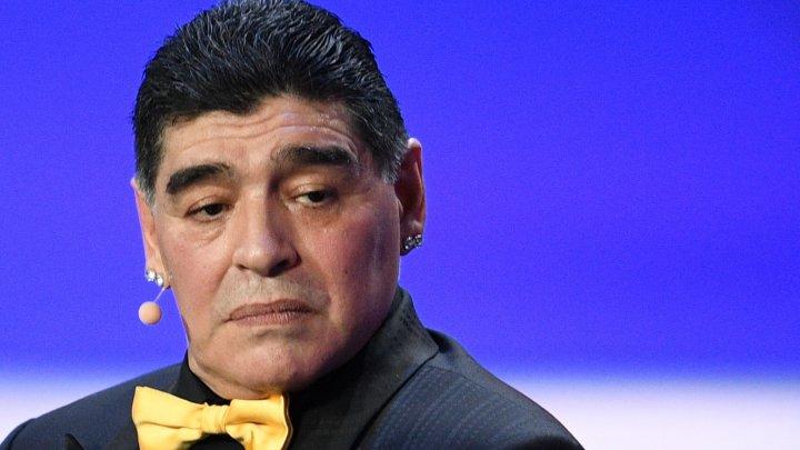 В ФИФА осудили Марадону за критику арбитра матча Англия — Колумбия