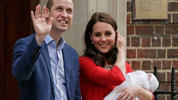 Опубликовано видео с крестин сына принца Уильяма и Кейт Миддлтон