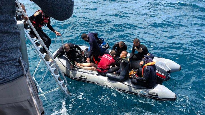Число жертв кораблекрушения у берегов Таиланда увеличилось до 44 человек