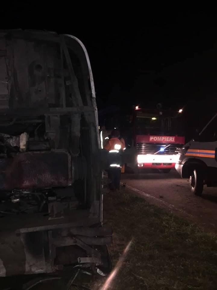 Новые детали аварии в районе Штефан-Водэ