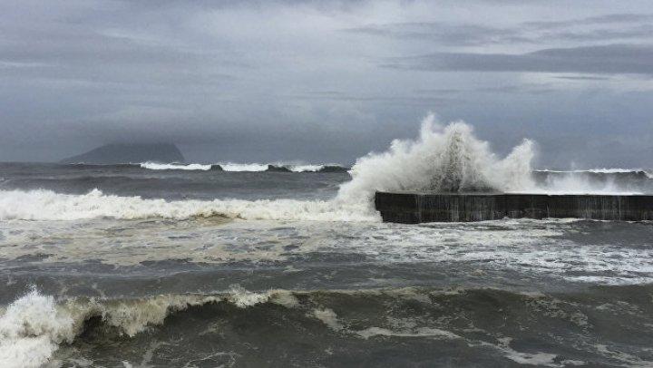 В Китае объявили повышенный уровень опасности из-за тайфуна