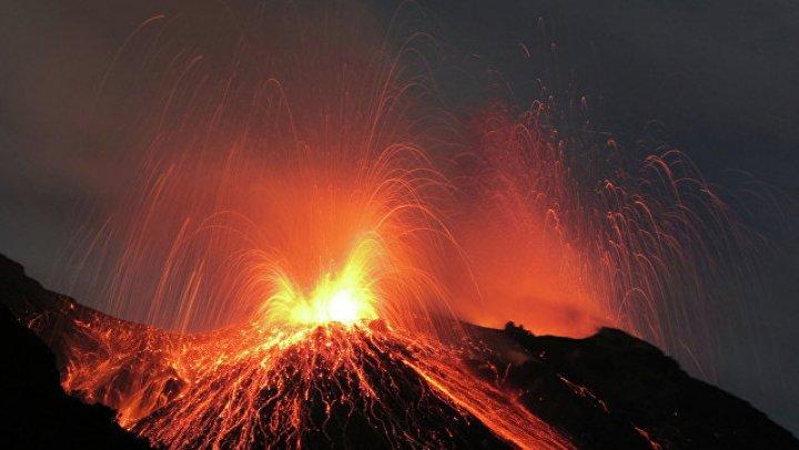 В Папуа-Новой Гвинее произошло извержение вулкана
