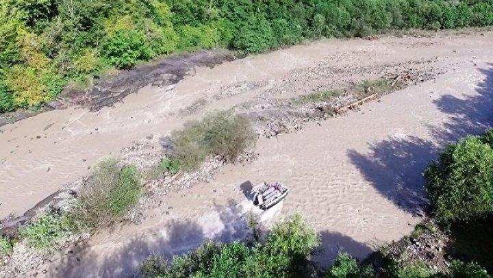 В Сочи обнаружено тело девочки, унесённой течением реки