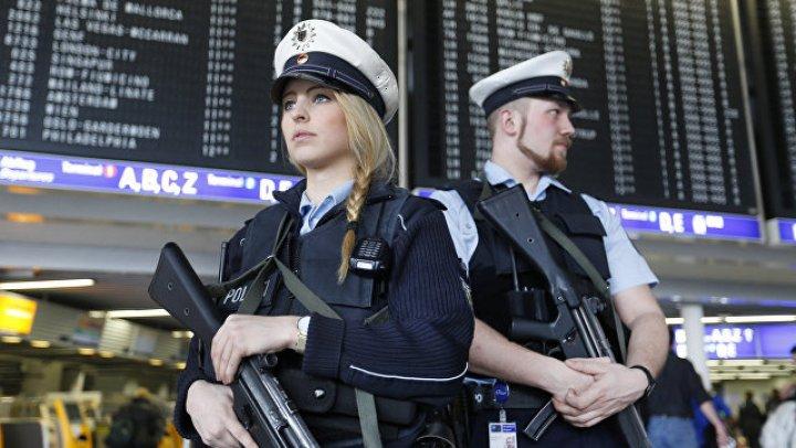 Полиция частично эвакуировала первый терминал аэропорта Франфурта