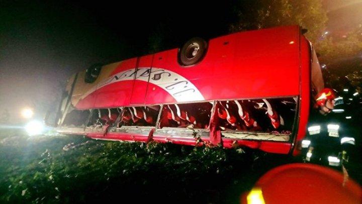 В Польше перевернулся экскурсионный автобус, пострадали десятки человек