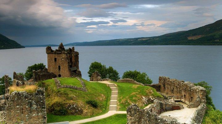 В Шотландии вновь увидели Лох-Несское чудовище