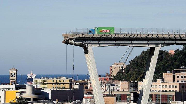 Обслуживающей мост в Генуе компании грозит штраф 150 миллионов евро