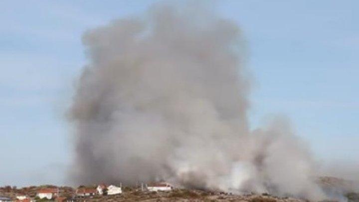 В Швеции загорелся остров, жителей эвакуировали