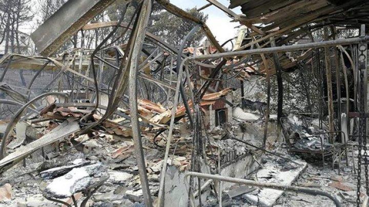 В Греции растет число жертв лесных пожаров