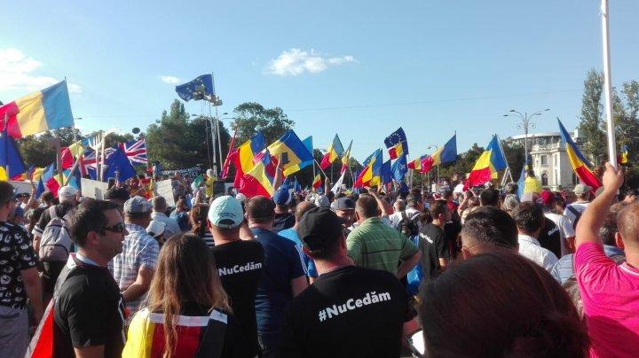 Массовые протесты в Румынии: число пострадавших превысило 440 (фото)
