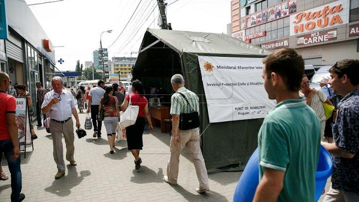 Около 40 тысяч человек воспользовались услугами пунктов реабилитации во время жары