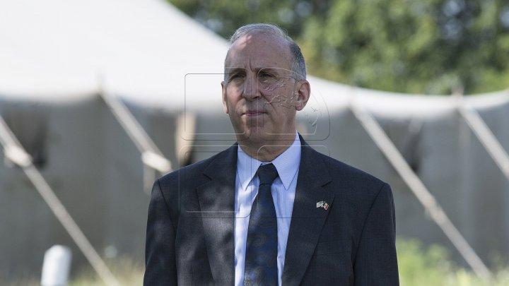 Джеймс Петтит: США продолжат поддерживать народ Молдовы