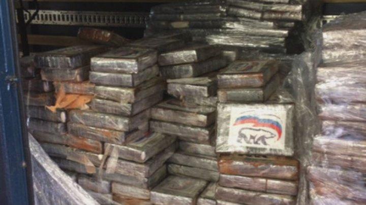 Две тонны кокаина с логотипом «Единой России» перехватили в Бельгии