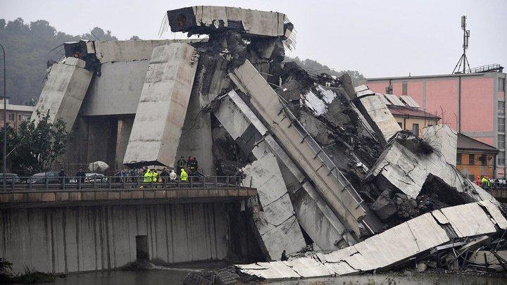 Число жертв обрушения моста в Генуе увеличилось до 41