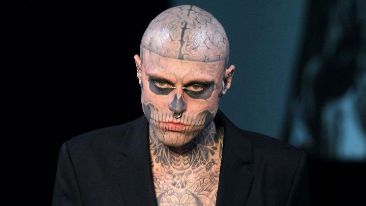 Умер тату-модель Zombie Boy