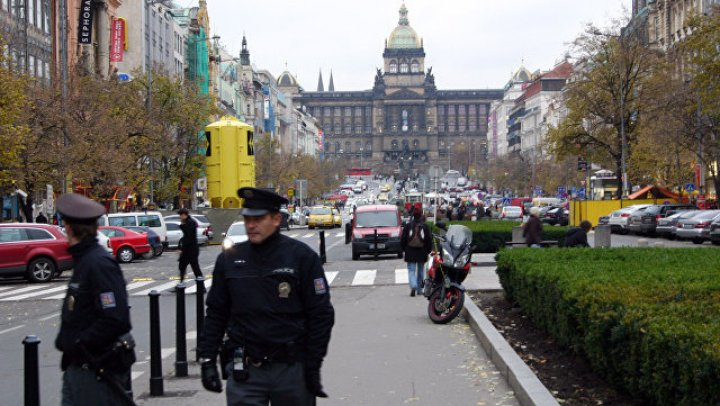 В Праге задержали мужчину, обвиненного в подготовке терактов