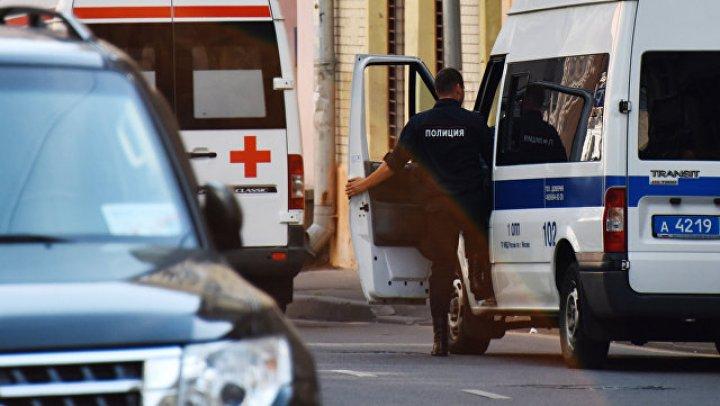 В центре Москвы столкнулись четыре автомобиля: видео