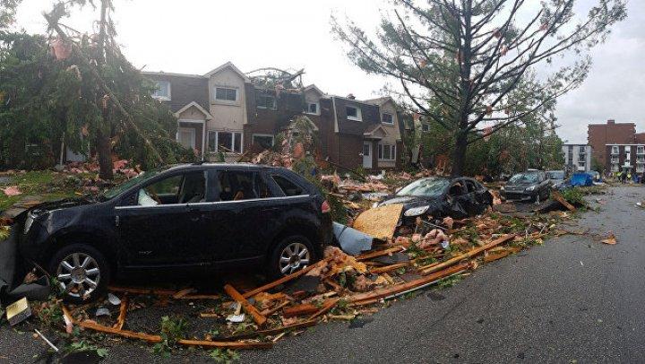 В Канаде 30 человек пострадали в результате торнадо