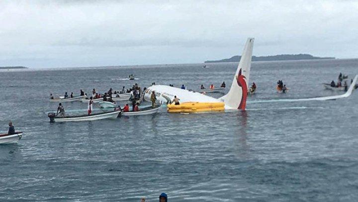 Один человек пропал без вести при посадке на воду самолёта в Микронезии