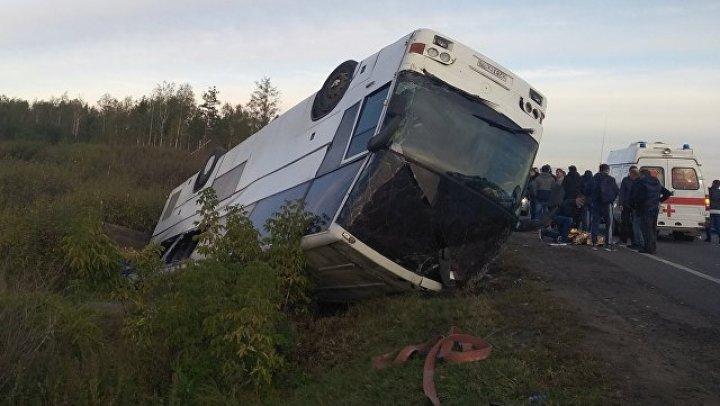 Количество пострадавших в ДТП с автобусом в Подмосковье возросло до 22 человек