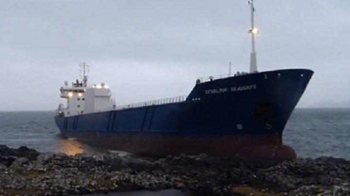 В порту Ростовской области село на мель судно под флагом Молдовы