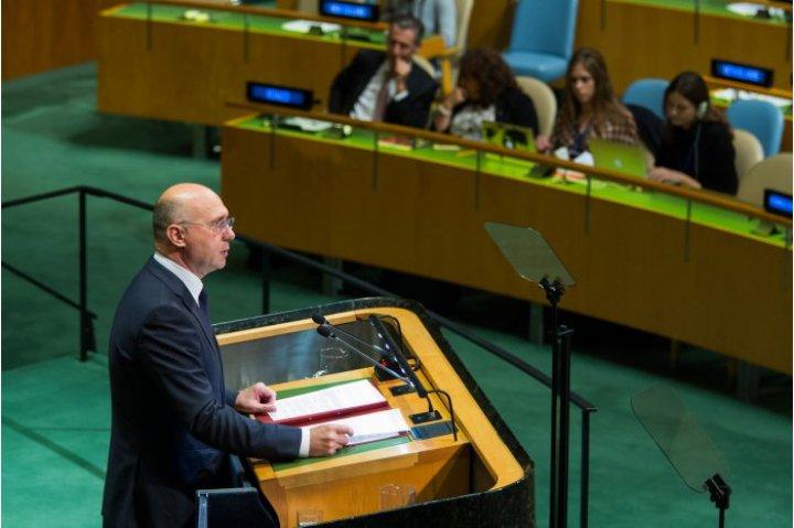 Павел Филип потребовал немедленного вывода российских войск с территории Молдовы