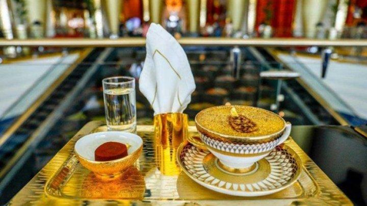 В отеле Дубая появился золотой капучино (фото)