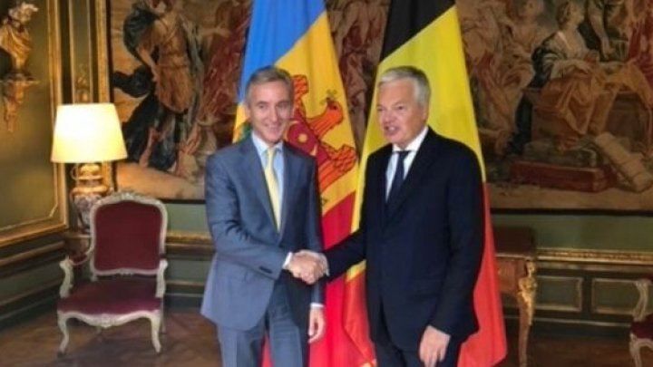 Вице-премьер Юрий Лянкэ: Поддержка Бельгии важна для евроинтеграции Молдовы