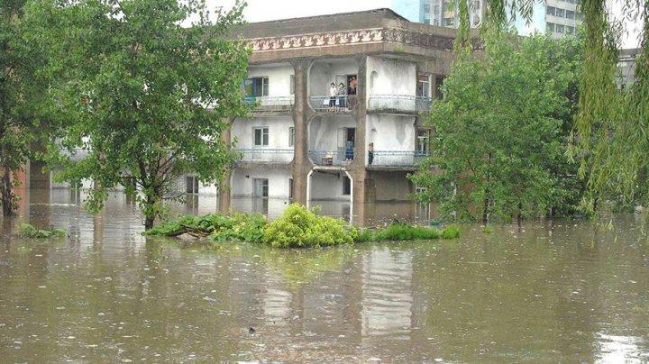 Более 70 человек погибли в результате наводнений в КНДР
