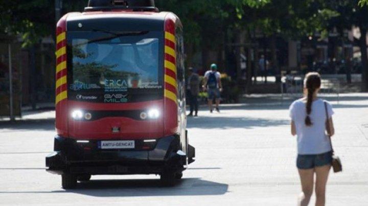 В Каталонии запустили беспилотные автобусы