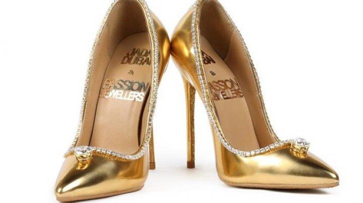В Дубае покажут туфли за $17 млн