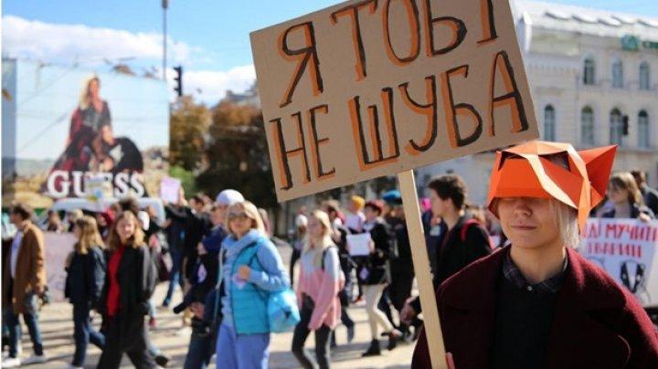 В Киеве прошел марш за права животных