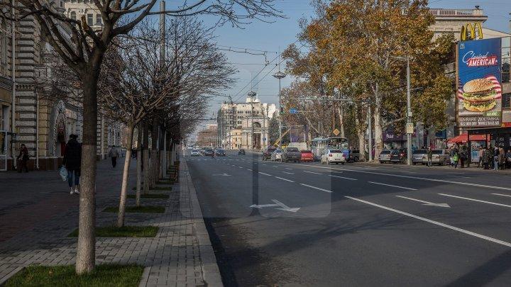 На выходных движение в центре Кишинева перекроют
