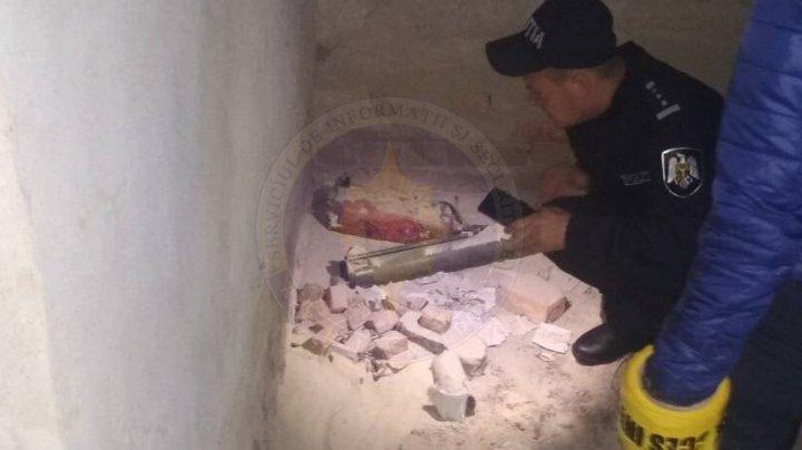Гранатомет и сотни патронов обнаружены сотрудниками СИБ в Вулканештах