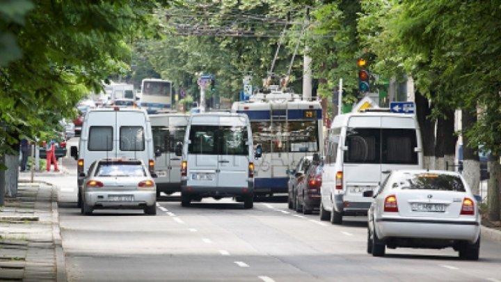 В выходные движение транспорта в центре столицы будет изменено