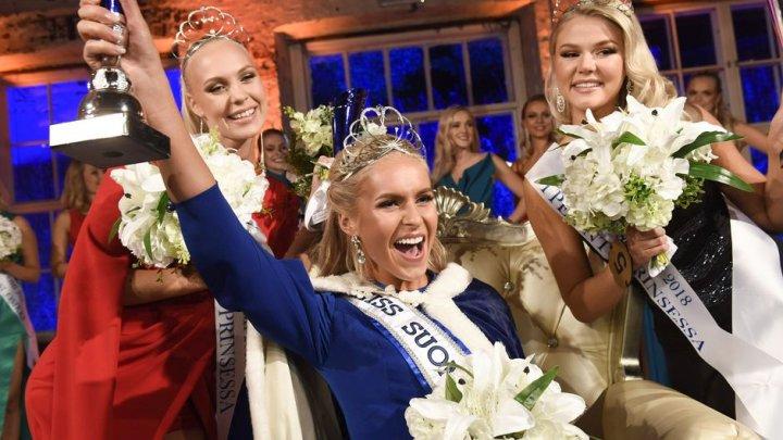 Самой красивой женщиной Финляндии стала девушка с русскими корнями