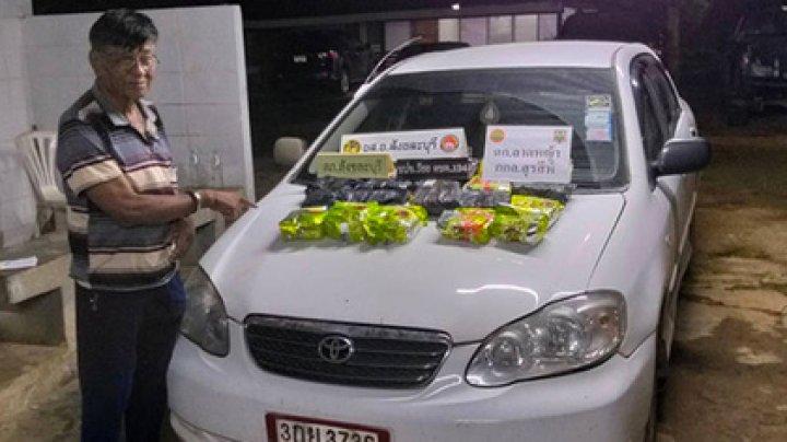 Тайский наркокурьер-пенсионер попался с 20 килограммами метамфетамина