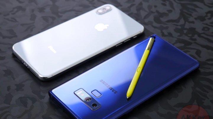 Новые iPhone работают дольше Galaxy Note 9