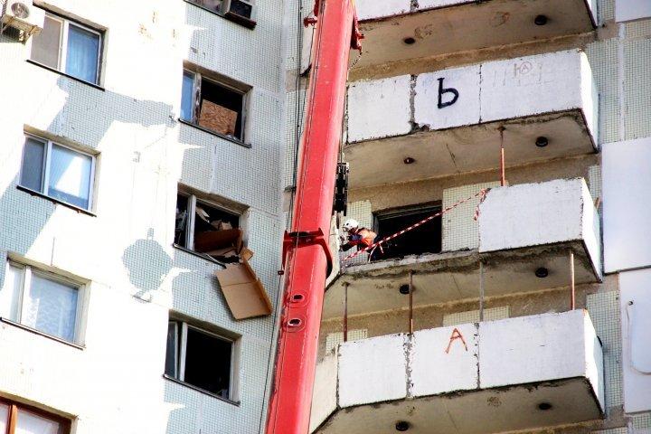 В многоэтажке на Московском проспекте завершили разбор завалов (фото)
