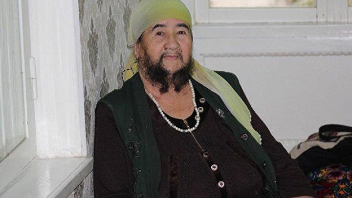 Женщина из Казахстана рассказала, что гордится своей бородой