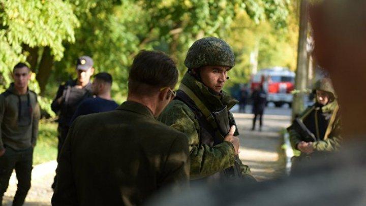 В керченском колледже нашли второе взрывное устройство