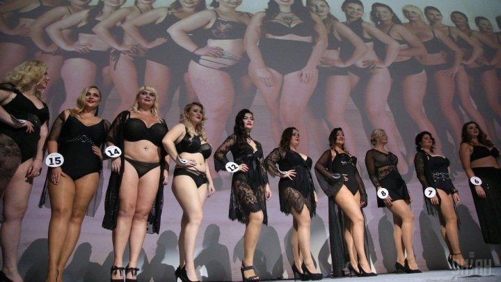 Пышная красота: в Киеве прошел конкурс Miss Ukraine plus size (фоторепортаж)
