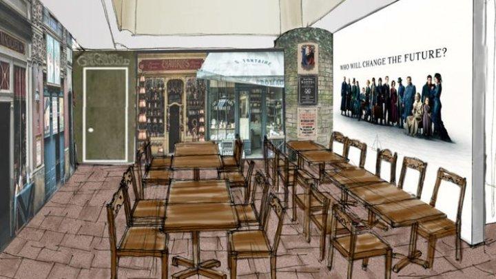 """В Японии откроются официальные кафе, посвященные """"Гарри Поттеру"""""""
